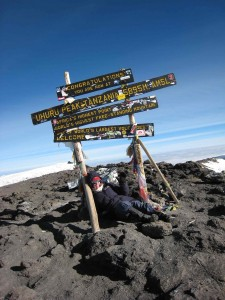 Summit of Kilimanjaro, July 7, 2007