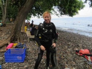 Going Diving in Tulamban
