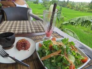 Lunch at Sari Organik.. yummy!