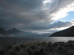 Departing from Lake TeAnau