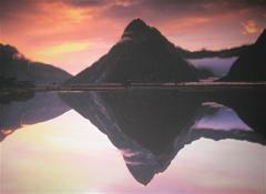 Pink Mitre Peak